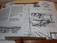 AMATI CONSTRUCTION PLANS FOR H.M.S. VICTORY