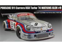 Fujimi 1/24 Porsche 911 RSR Turbo Watkins Glen 1974 scatola di montaggio