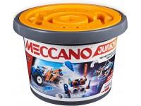Meccano Junior secchiello con 150 pezzi in plastica