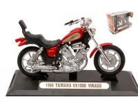 MOTORMAX 1/18 YAMAHA VX1000 VIRAGO 1986 MODELLINO