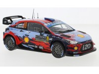 IXO MODELS 1/24 HYUNDAI i20 WRC N.19 RALLY MONTE CARLO 2019 MODELLINO