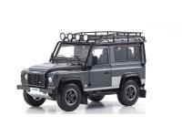 Kyosho 1/18 Land Rover Defender 90 grigio modellino diecast