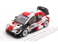 SPARK MODEL 1/43 TOYOTA YARIS WRC N.33 RALLY MONTE CARLO 2021 MODELLINO