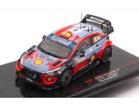 IXO MODELS 1/43 HYUNDAI i2 COUPE WRC N.6 RALLY SARDEGNA 2020 MODELLINO