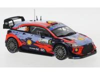 IXO MODELS 1/43 HYUNDAI i20 COUPE WRC N.6 RALLY MONZA 2020 MODELLINO