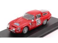 BEST MODEL 1/43 ALFA ROMEO TZ1 N.83 VITTORIA COUPE DES ALPES 1964 MODELLINO