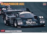 Hasegawa 1/24 1/24 Alpha Porsche 962C scatola di montaggio