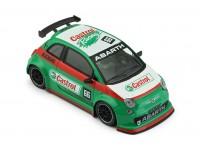 NSR 1/32 Abarth 500 Assetto Corse - Castrol n.66 verde