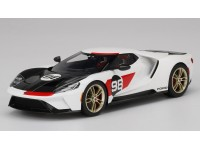 TOPSPEED 1/18 FORD GT N.98 HERITAGE EDITION 2021 MODELLINO