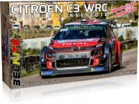 Belkits 1/24 Citroen C3 WRC Tour de Corse 2018 scatola di montaggio