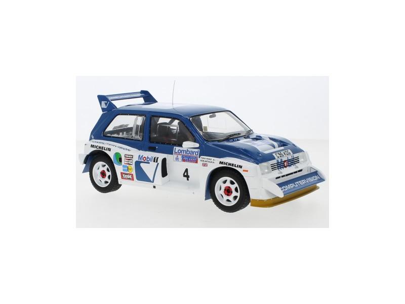 IXO MODELS 1/18 MG METRO 6R4 N.4 RAC RALLY 1986 POND-ARTHUR MODELLINO