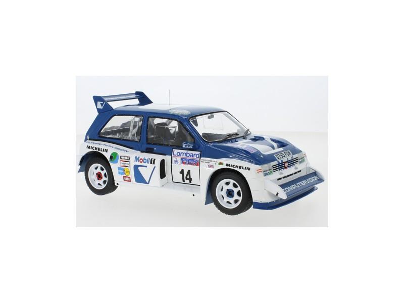 IXO MODELS 1/18 MG METRO 6R4 N.14 RAC RALLY 1986 LLEWELLIN-SHORT MODELLINO