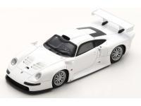 SPARK MODEL 1/43 PORSCHE 911 GT1 VERSIONE STRADALE 1996 BIANCA