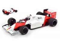 MODELCAR GROUP 1/18 McLaren MP4/2B ALAIN PROST GP MONACO 1985