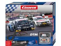 Carrera Digital 132 pista elettrica digitale DTM Speed Memories BMW M4 vs Mercedes AMG C 63