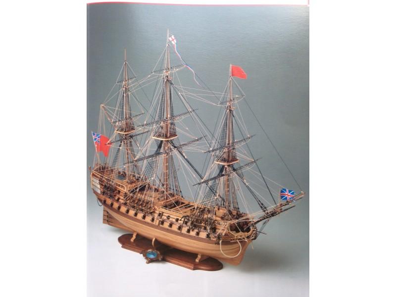COREL SM54-H.M.S. BELLONA Vascello Britannico da 74 cannoni del 1780