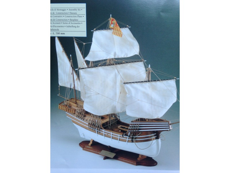 COREL SM30-COCCA VENETA Nave mercantile del secolo XVI