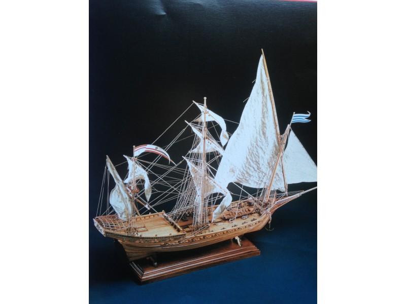 COREL SM21-MISTICQUE Polacca-sciabecco francese del 1750