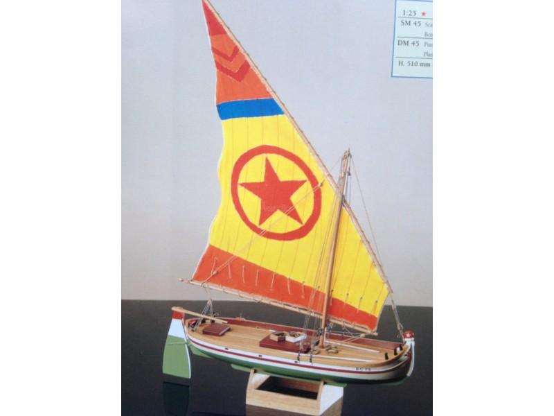 COREL SM45-PARANZA Imbarcazione italiana