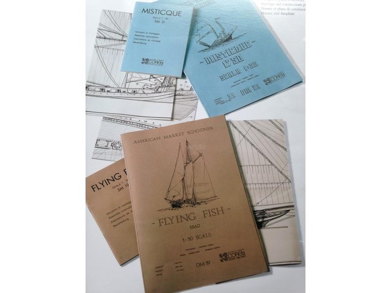 Set disegni e istruzioni Peregrine DM60 Corel