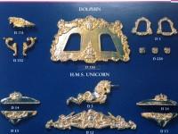 Serie completa accessori SA16 Dolphyn (completa di decorazioni)