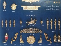 Serie completa accessori SA27 Yacht D'oro (completa di decorazioni)