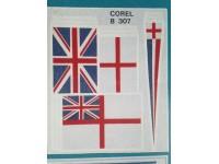 Serie Bandiere inglesi B307 Corel