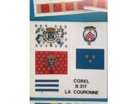 Couronne B317 flags series