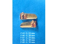 Fanali con supporto 20mm corel (1 paio)