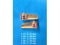 Fanali con supporto 30mm corel (1 paio)