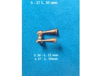 Sirena 2 trombe 30mm corel