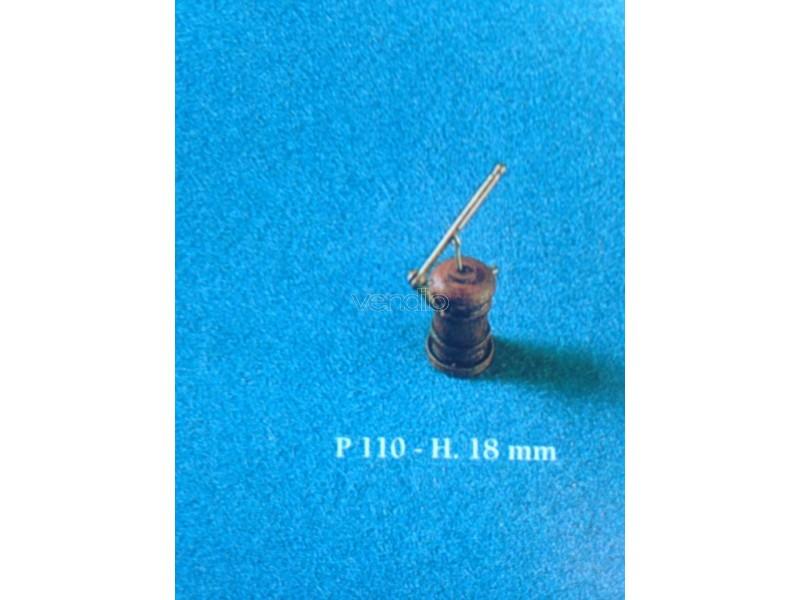 Pompa 1 cilindro legno 18mm corel