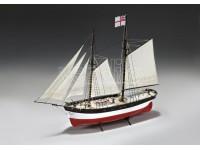 MODELLISMO NAVALE AMATI HUNTER Q-SHIP SCATOLA DI MONTAGGIO
