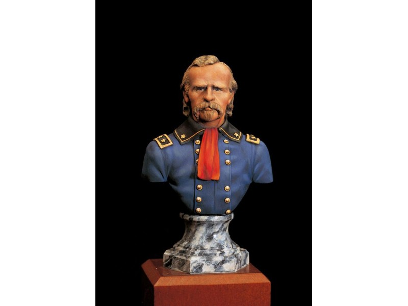 MODELLISMO AMATI BUSTO GENERALE G. ARMSTRONG CUSTER SCALA 1:10 IN RESINA