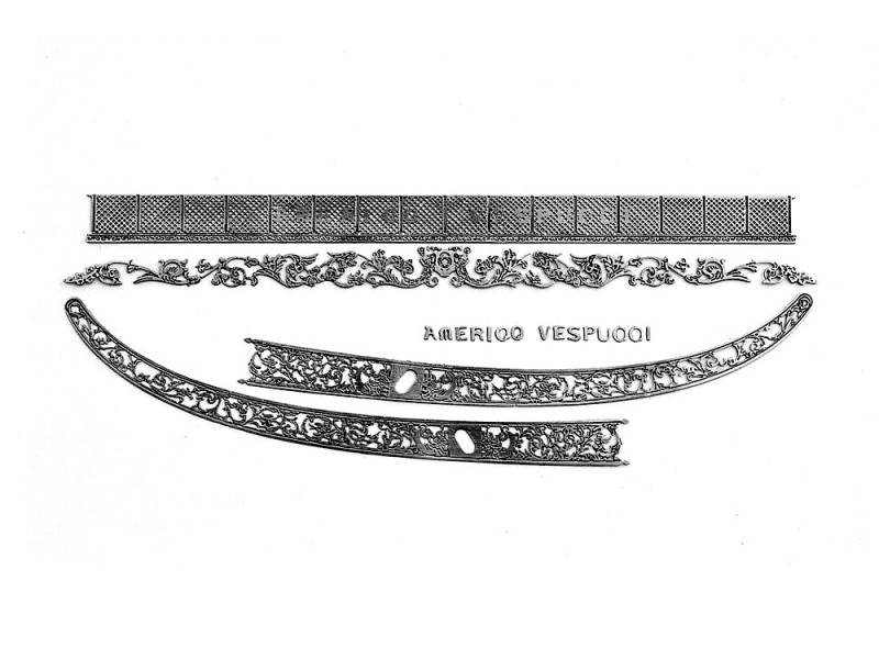 Amati accessori Fotoincisi per Vespucci