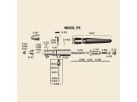 BADGER 41-016 NEEDLE HOLDER TUBE