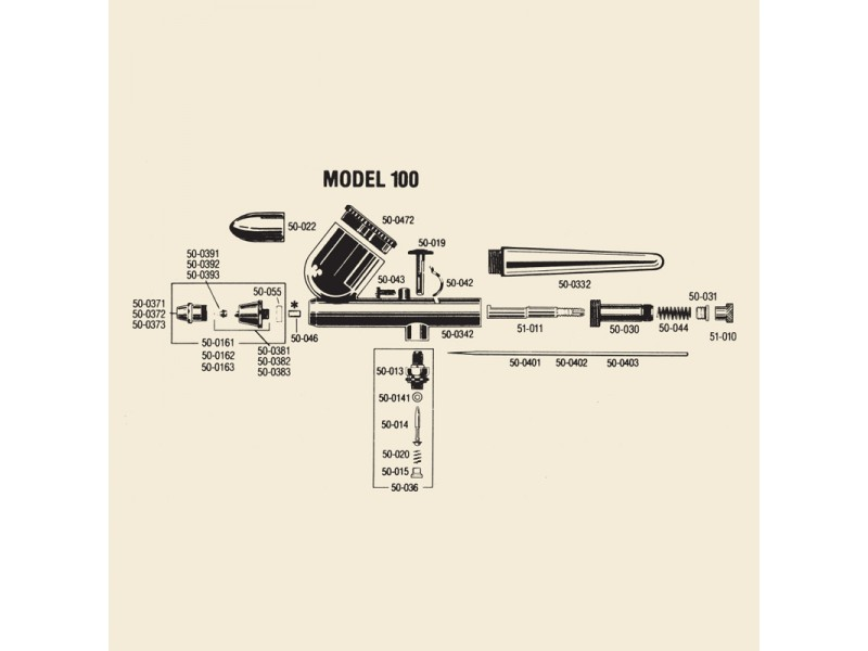 BADGER 50-036 Valvola aria completa