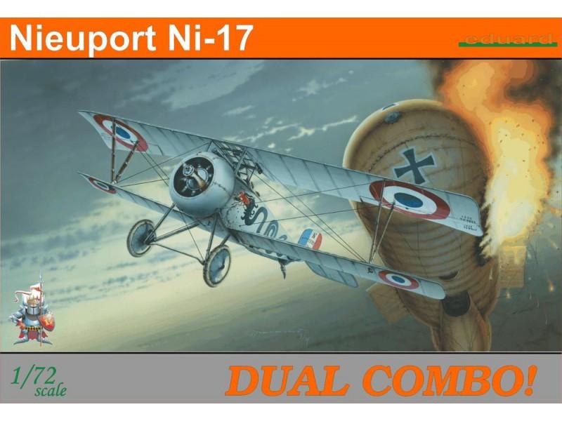 EDUARD KIT MODELLISMO AEREO Nieuport Ni-17 Dual Combo