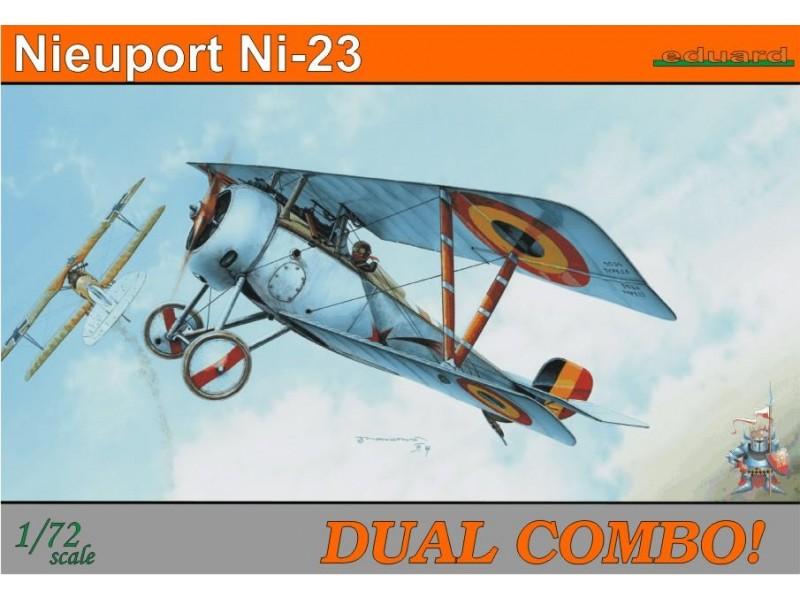EDUARD KIT MODELLISMO AEREO Nieuport Ni-23 Dual Combo