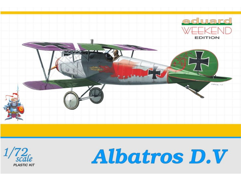 EDUARD KIT MODELLISMO Albatros D.V. (WEEKEND EDITION)