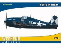 EDUARD KIT MODELLISMO AEREO F6F-5 Hellcat (WEEKEND EDITION)