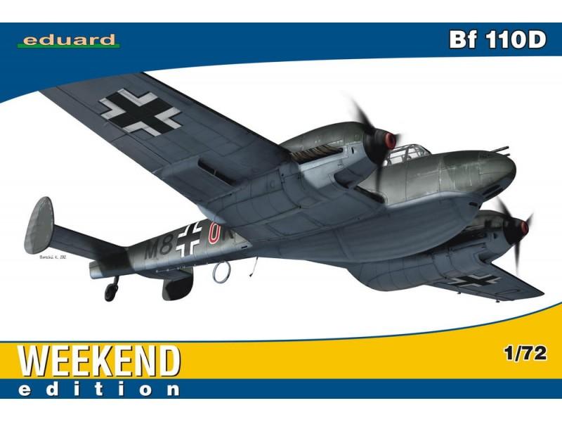 EDUARD KIT MODELLISMO AEREO Bf 110D (WEEKEND EDITION)