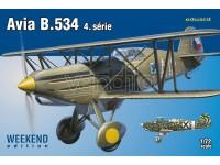 EDUARD KIT MODELLISMO AEREO Avia B.534 IV (WEEKEND EDITION)