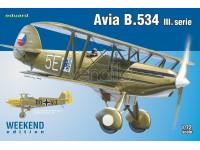 EDUARD KIT MODELLISMO AEREO Avia B.534 III (WEEKEND EDITION)