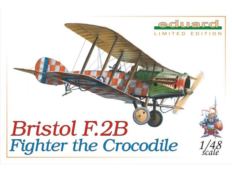 EDUARD KIT MODELLISMO AEREO Bristol F.2B the crocodile (LIMITED EDITION)