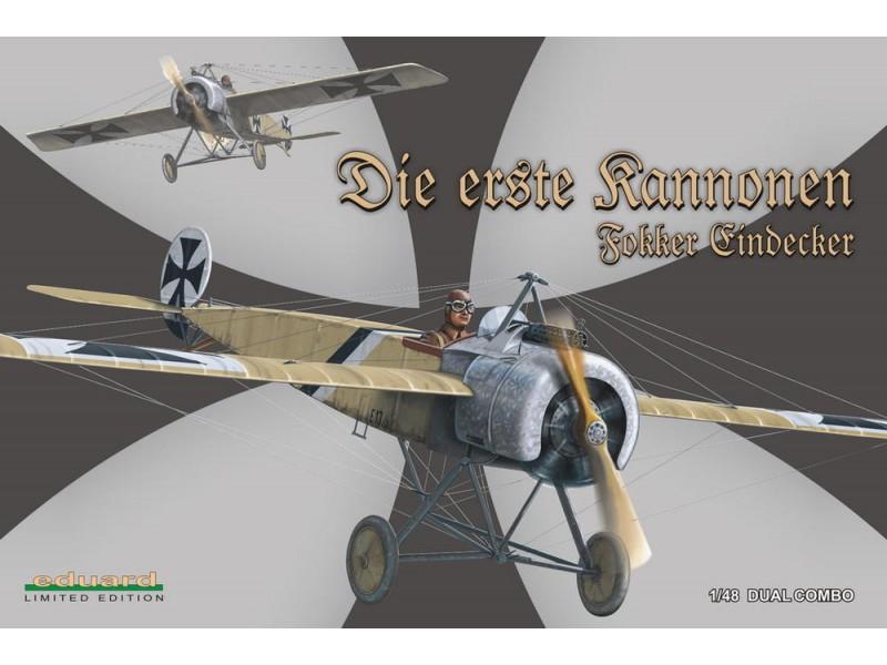 EDUARD KIT MODELLISMO AEREO Fokker E.I/E. II Dual C. (LIMITED EDITION)