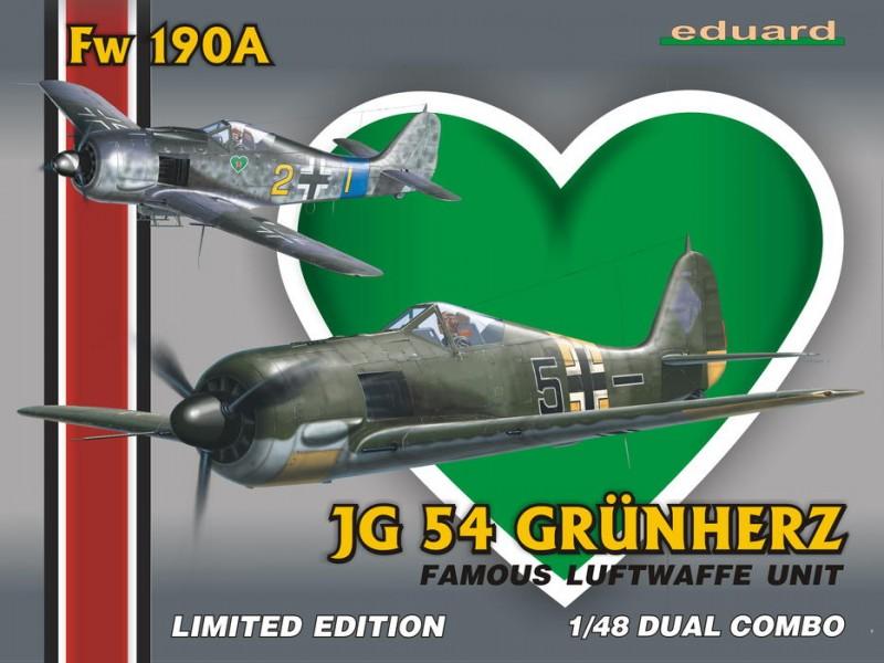 EDUARD KIT MODELLISMO AEREO Fw 190A JG-54 Dual Combo (LIMITED EDITION)