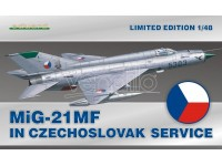 EDUARD KIT MODELLISMO AEREO MiG-21MF in Czech.serv. (LIMITED EDITION)