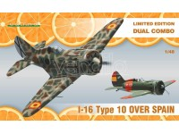 EDUARD KIT MODELLISMO AEREO I-16 Type 10 over Spain D.C (LIMITED EDITION)