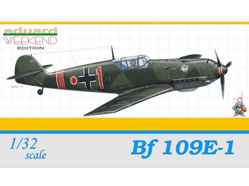 EDUARD KIT MODELLISMO AEREO Bf 109E-1 (WEEKEND EDITION)